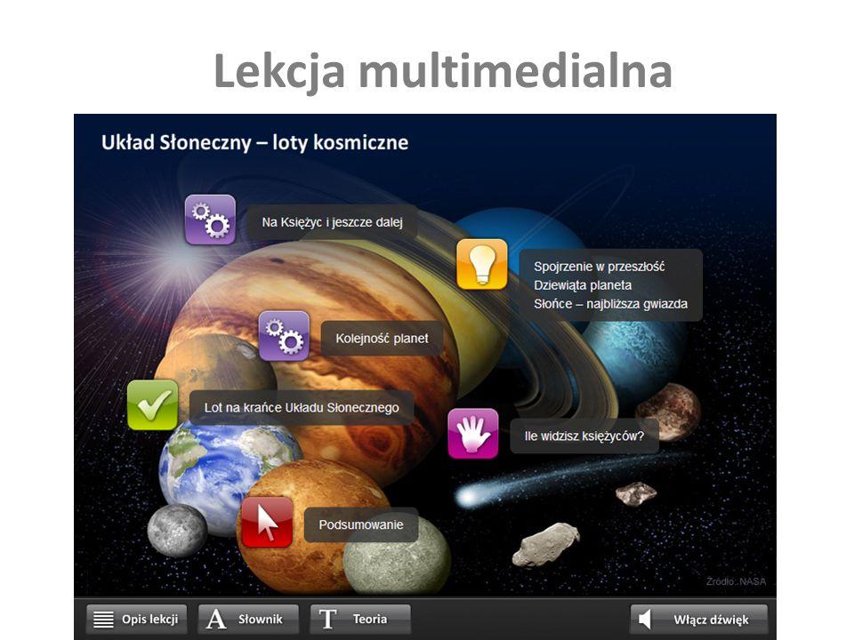 Lekcja multimedialna