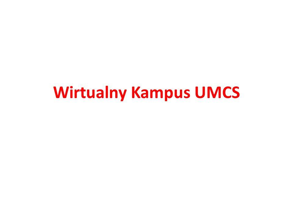 Wirtualny Kampus UMCS