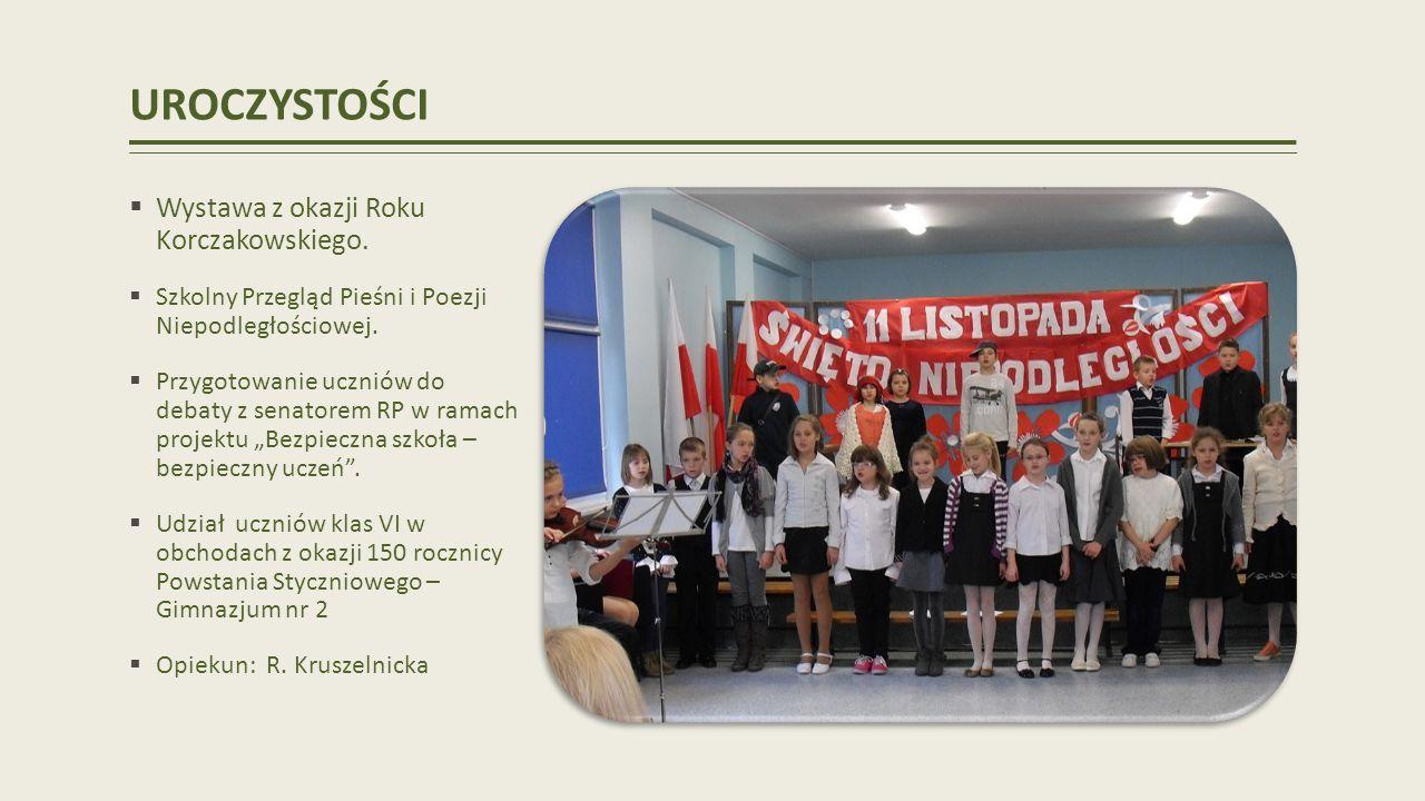 UROCZYSTOŚCI Wystawa z okazji Roku Korczakowskiego.