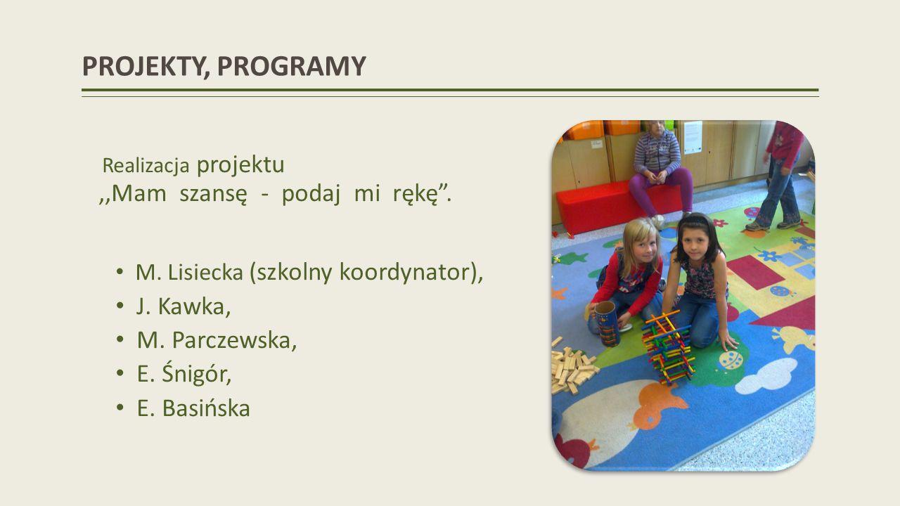 PIŁKA KOSZYKOWA - SZCZEBEL POWIATOWY 1 miejsce dziewcząt SP 1 miejsce chłopców SP 2 miejsce dziewcząt GS 1 miejsce chłopców GS Opiekunowie: E.