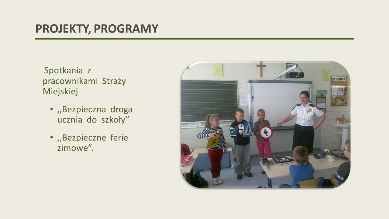 PROJEKTY, PROGRAMY Świerszczykowi Klub Pożeraczy Liter Opiekun: M. Lisiecka
