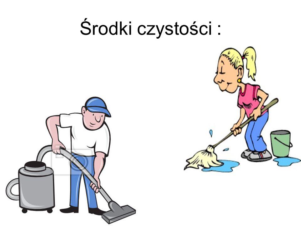 Środki czystości :