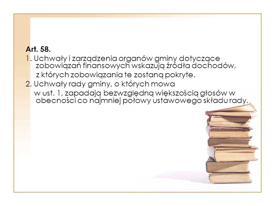 Art.58. 1.