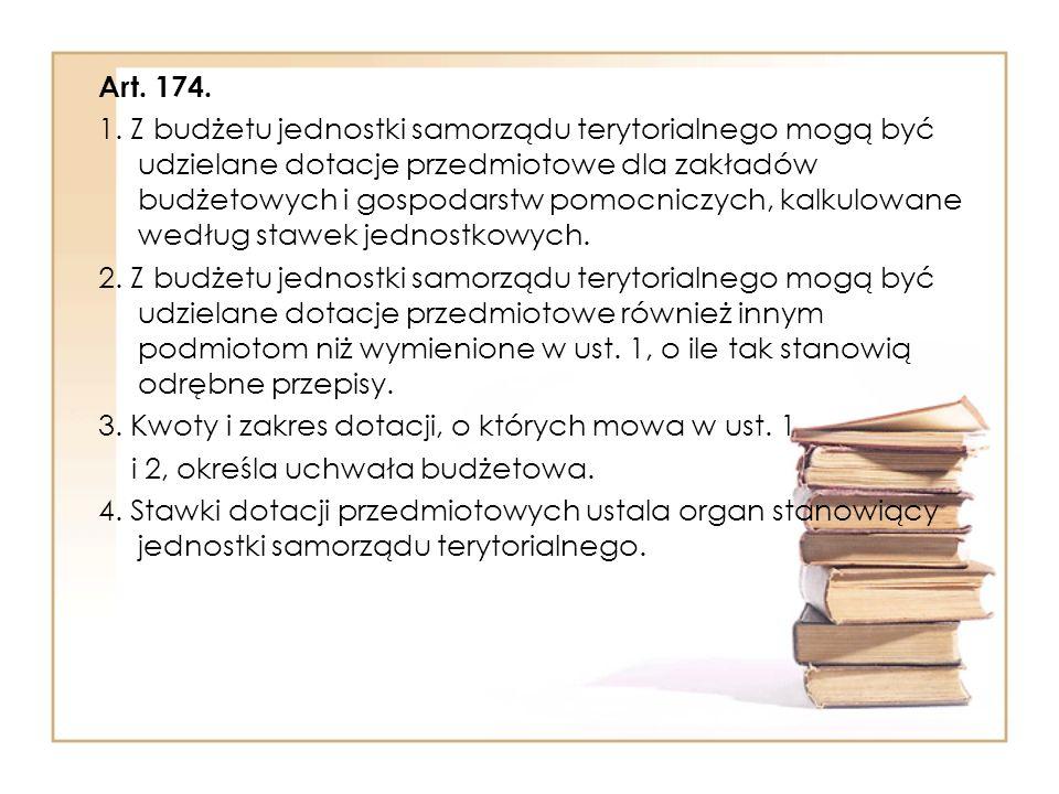 Art.174. 1.