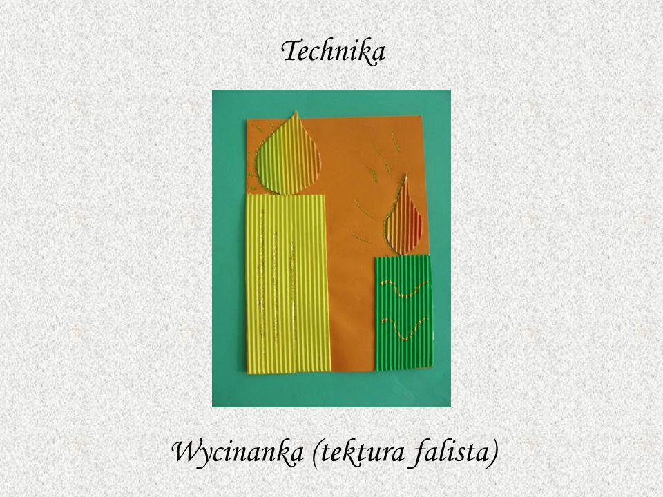 Technika Wycinanka (tektura falista)