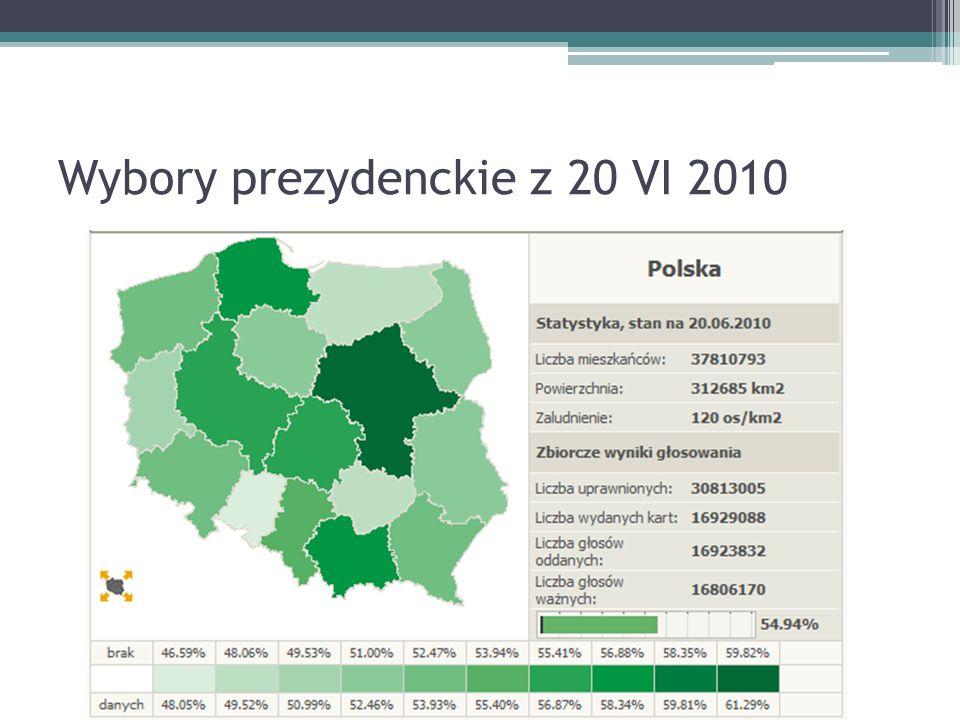 Wybory prezydenckie z 20 VI 2010