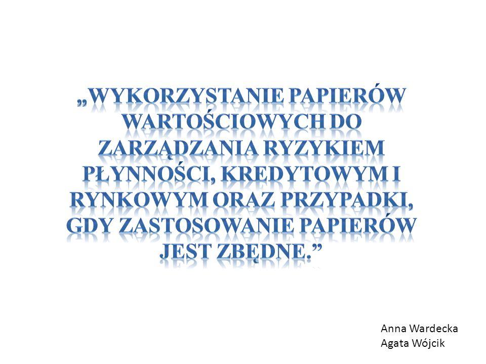Anna Wardecka Agata Wójcik