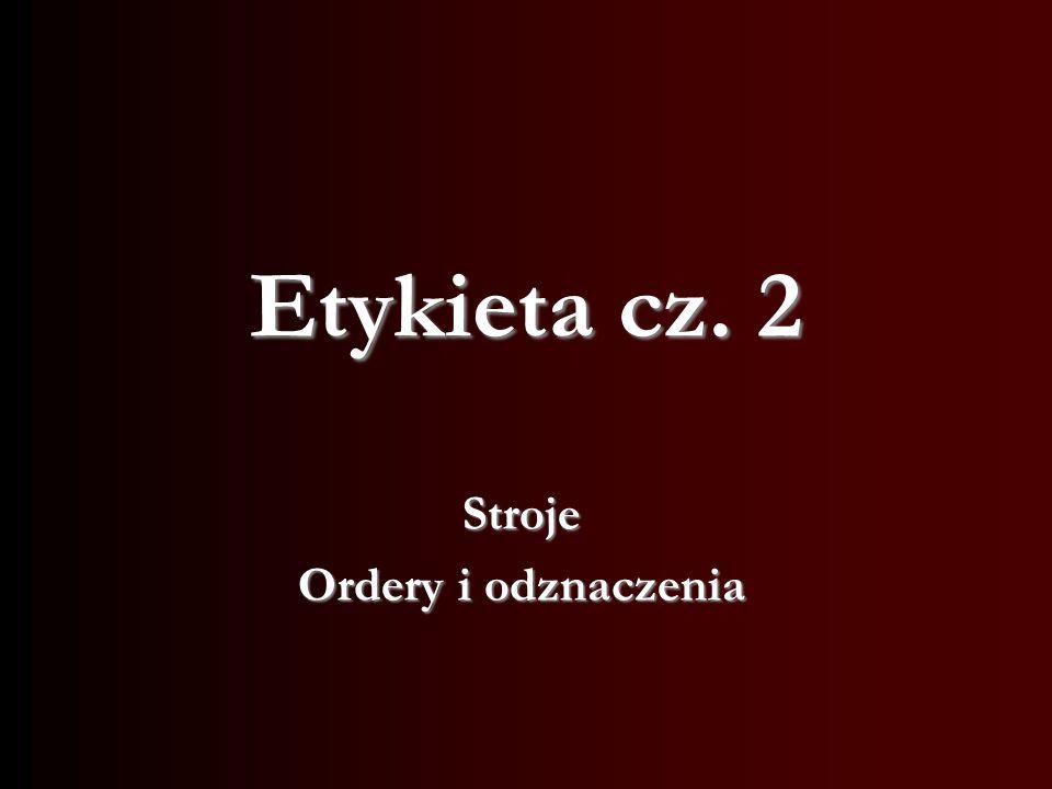 Protokół dyplomatyczny - Wykład 7