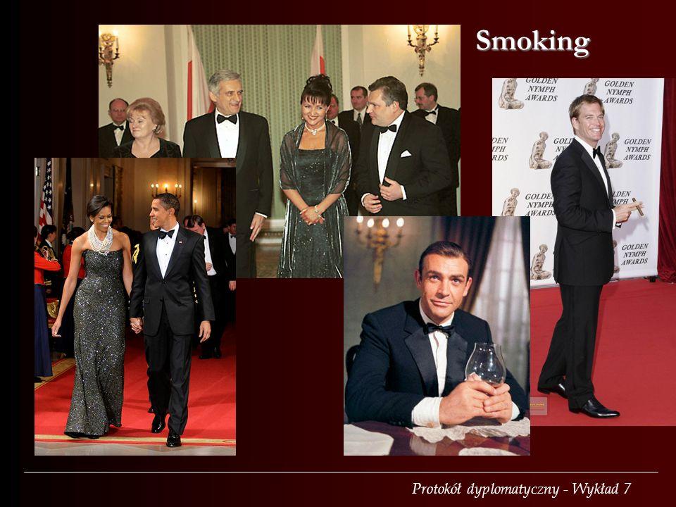 Protokół dyplomatyczny - Wykład 7 Smoking