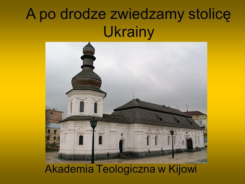 Jeden z prezentów od Piotra I Pomnik Szewczenki