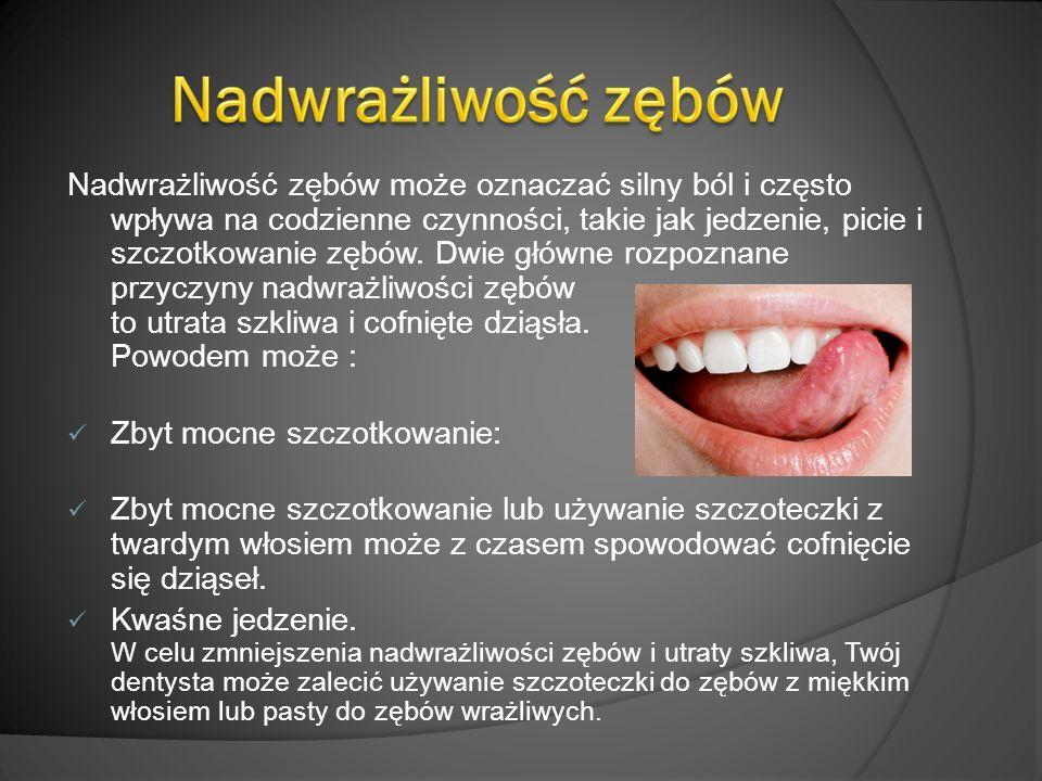 Nadwrażliwość zębów może oznaczać silny ból i często wpływa na codzienne czynności, takie jak jedzenie, picie i szczotkowanie zębów.