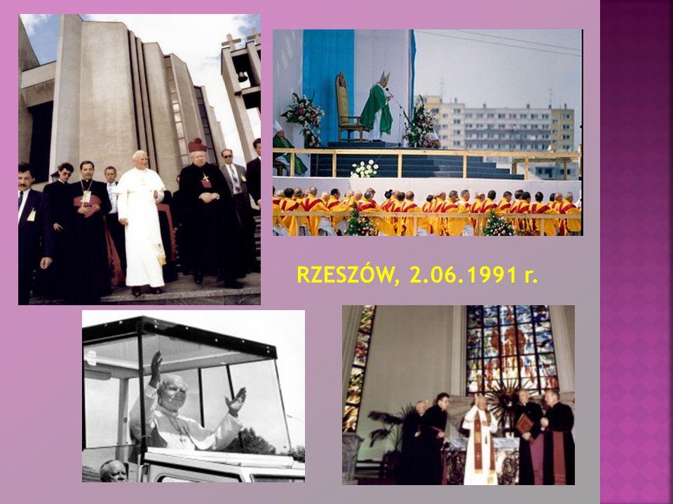 RZESZÓW, 2.06.1991 r.