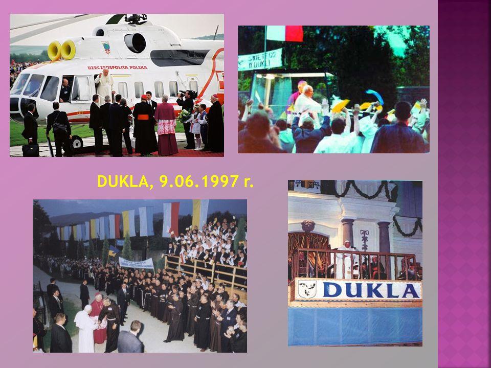 DUKLA, 9.06.1997 r.