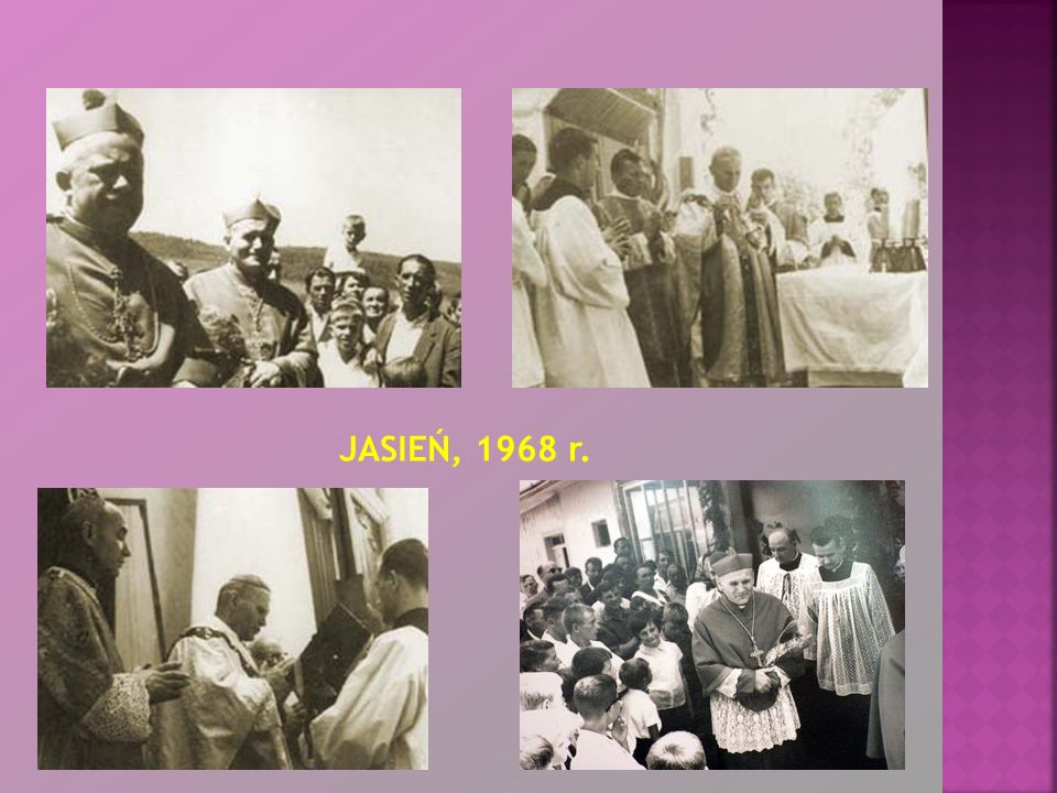 Papież po raz pierwszy odwiedził Podkarpacie dopiero w czasie IV pielgrzymki do Ojczyzny w czerwcu 1991 roku.