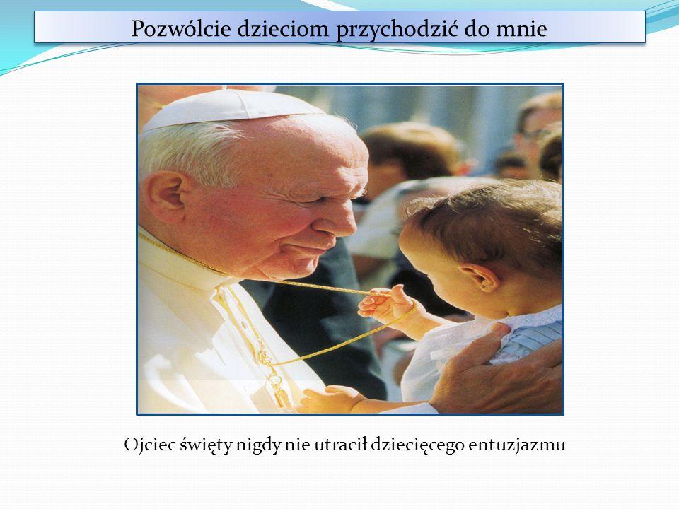 Zabawy z papieżem W chowanego W piłkę