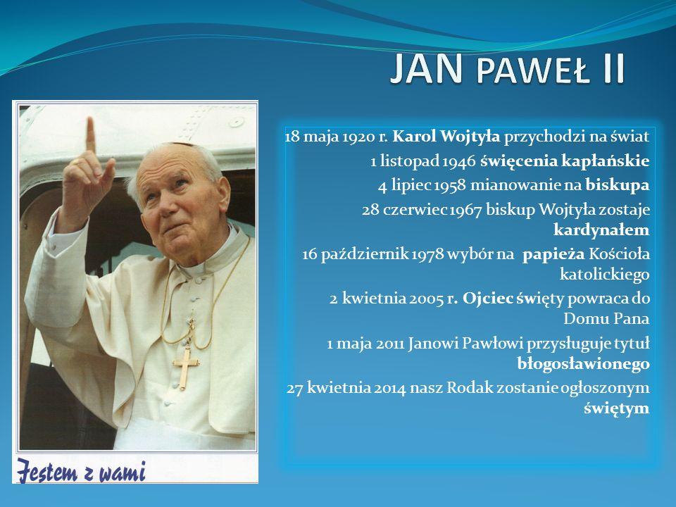 Uśmiechnij się – papież którego nie znamy Miłego oglądania życzy Natalia Dubiel