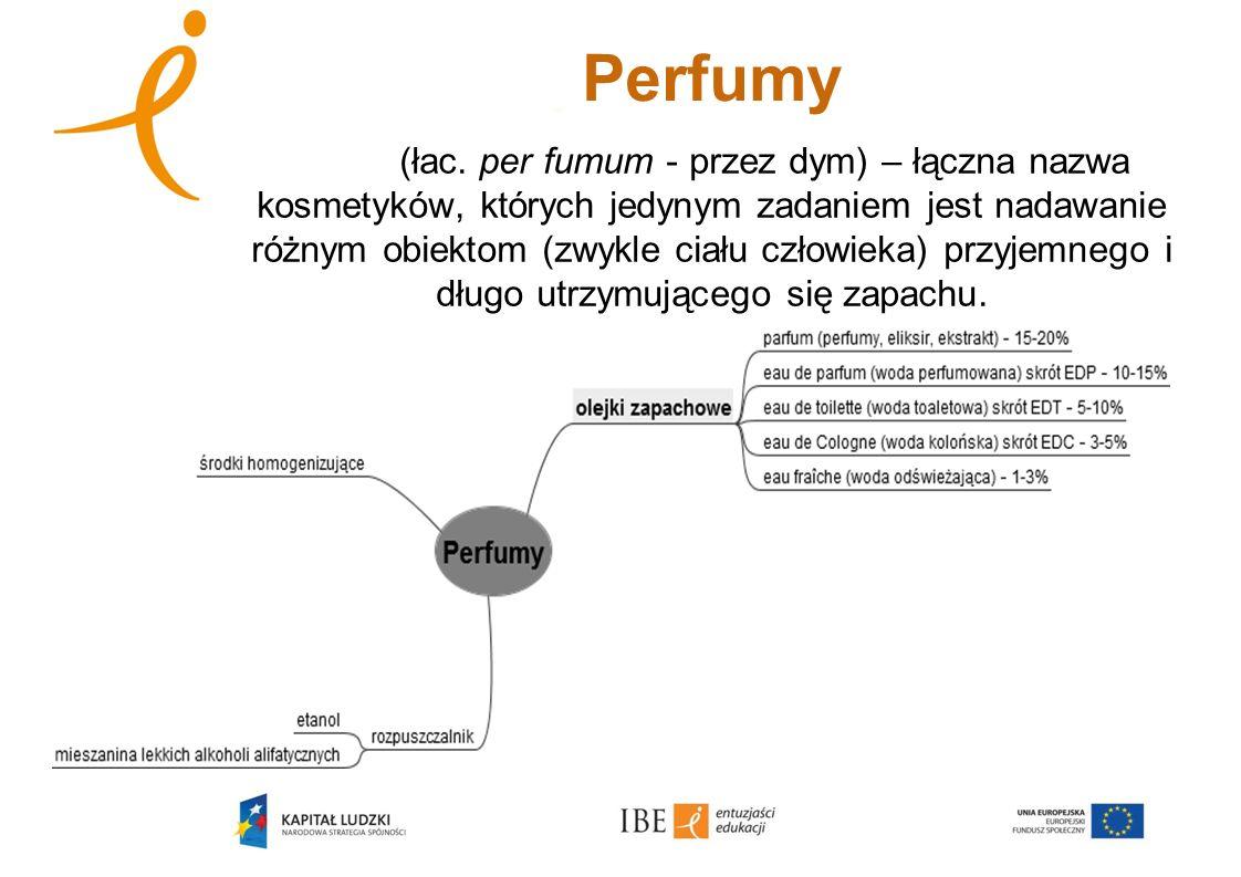 Perfumy (łac. per fumum - przez dym) – łączna nazwa kosmetyków, których jedynym zadaniem jest nadawanie różnym obiektom (zwykle ciału człowieka) przyj
