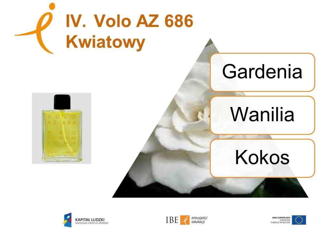 IV.Volo AZ 686 Kwiatowy GardeniaWaniliaKokos