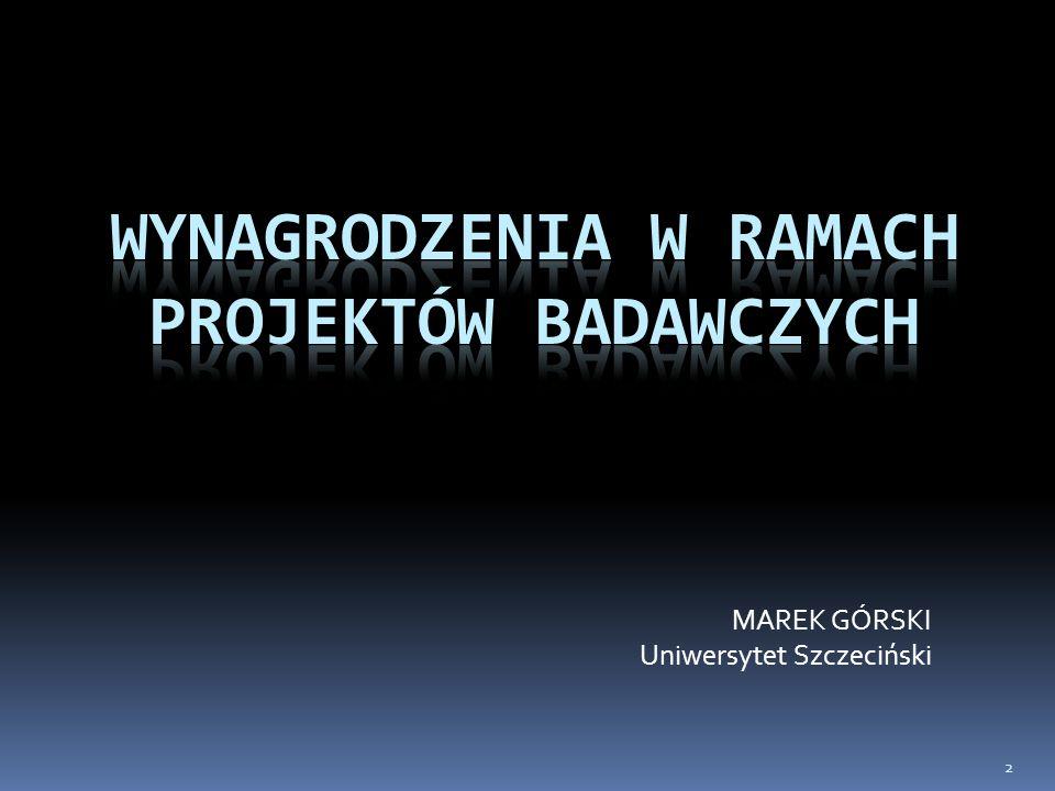 MAREK GÓRSKI Uniwersytet Szczeciński 2