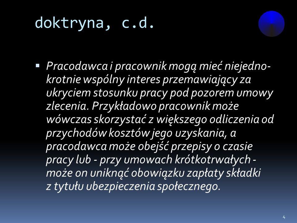 doktryna, c.d.