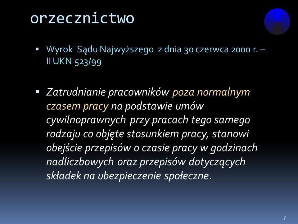 orzecznictwo, c.d.Wyrok Sądu Apelacyjnego w Gdańsku z dnia 21 października 1994 r.