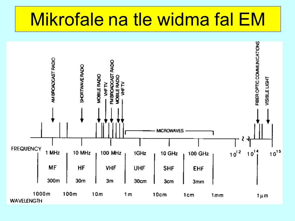 Mikrofale na tle widma fal EM