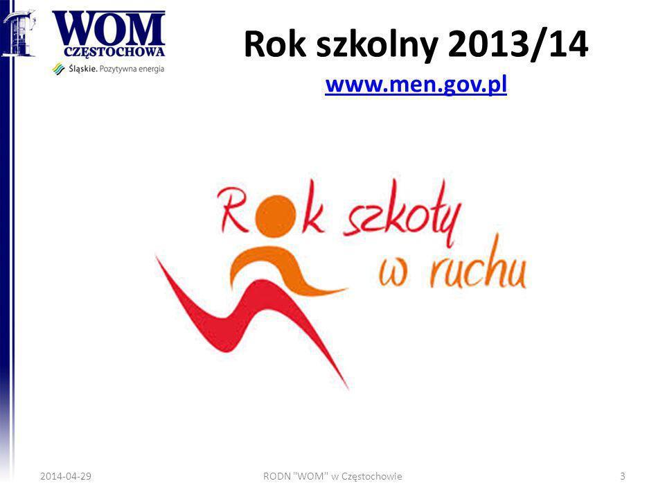 Rok szkolny 2013/14 www.men.gov.pl www.men.gov.pl 2014-04-29RODN