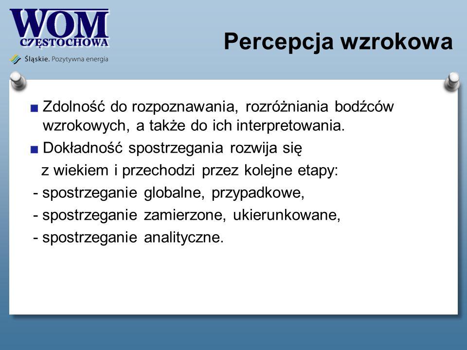 Percepcja słuchowa To proces rozpoznawania, różnicowania, zapamiętywania, analizowania i syntetyzowania dźwięków.