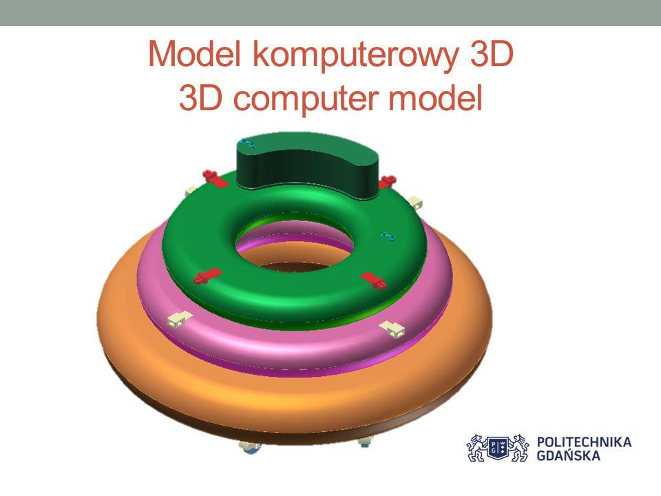 Model komputerowy 3D 3D computer model