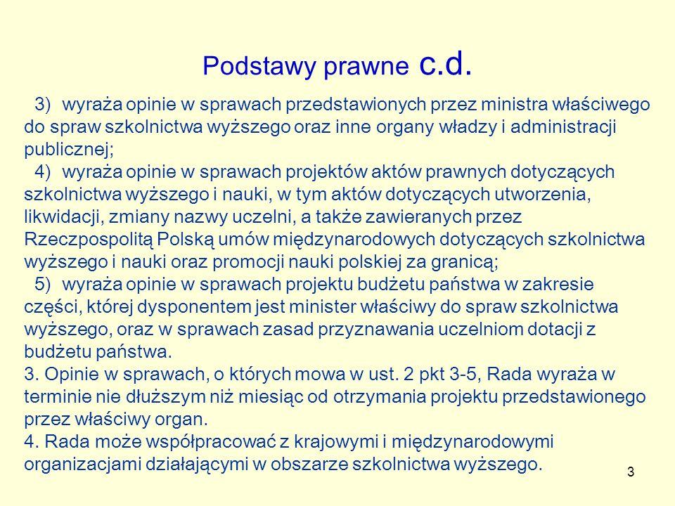 3 Podstawy prawne c.d.