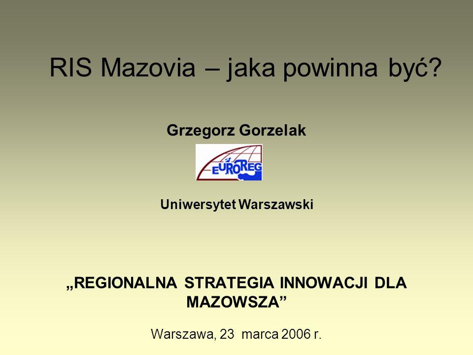 RIS Mazovia – jaka powinna być.