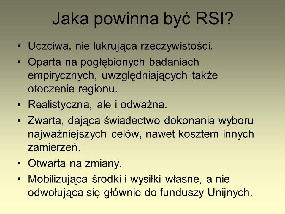 Jakie są polskie RSI.(1) Różne. Słabsze i lepsze.