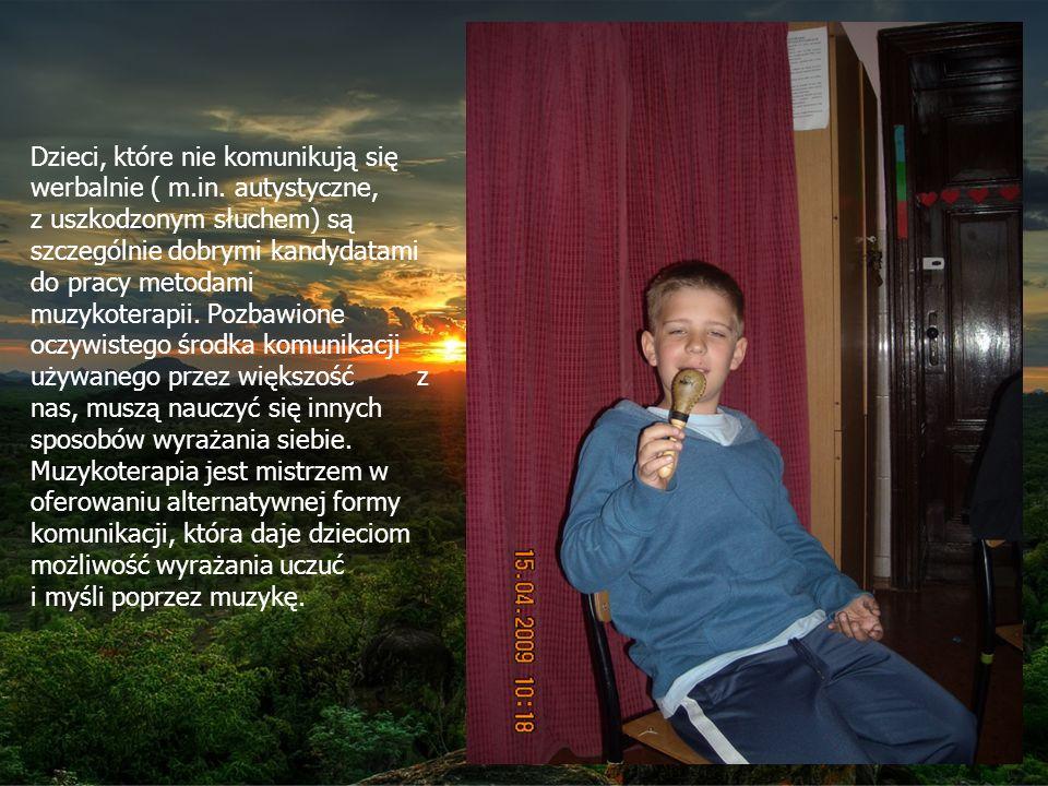 Dzieci, które nie komunikują się werbalnie ( m.in.