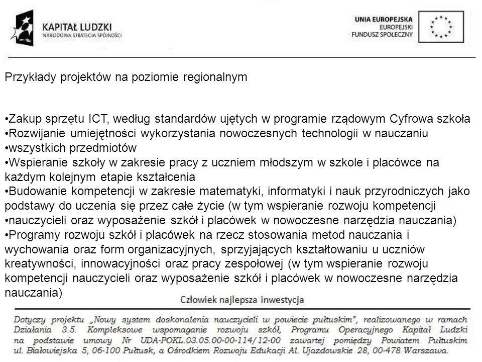 Zakup sprzętu ICT, według standardów ujętych w programie rządowym Cyfrowa szkoła Rozwijanie umiejętności wykorzystania nowoczesnych technologii w nauc