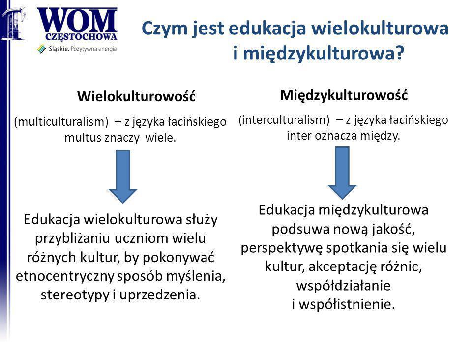 Czym jest edukacja wielokulturowa i międzykulturowa? Wielokulturowość (multiculturalism) – z języka łacińskiego multus znaczy wiele. Edukacja wielokul