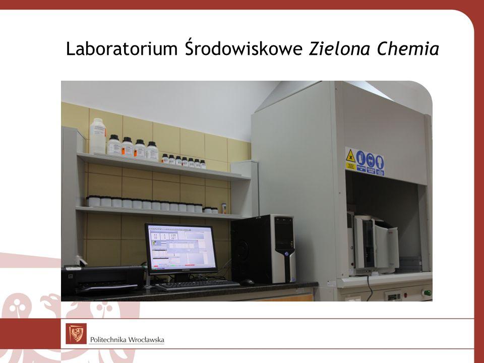 Laboratorium Środowiskowe Zielona Chemia
