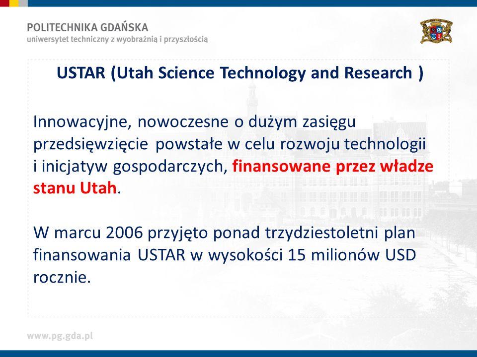 Innowacyjne, nowoczesne o dużym zasięgu przedsięwzięcie powstałe w celu rozwoju technologii i inicjatyw gospodarczych, finansowane przez władze stanu Utah.