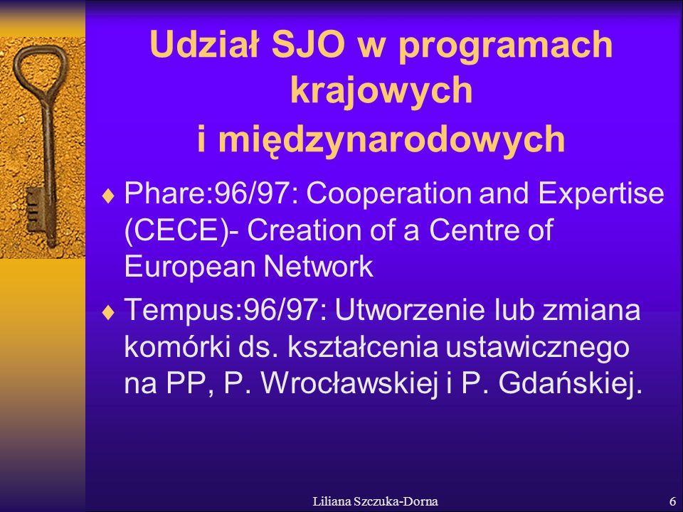 Liliana Szczuka-Dorna17 Wulkow Memorandum - Studia Językowe w Instytucjach Szkolnictwa Wyższego w Europie Studia Językowe w ISW są w stanie przyczynić się nie tylko do teoretycznych i intelektualnych kwestii nauczania i uczenia się języków.