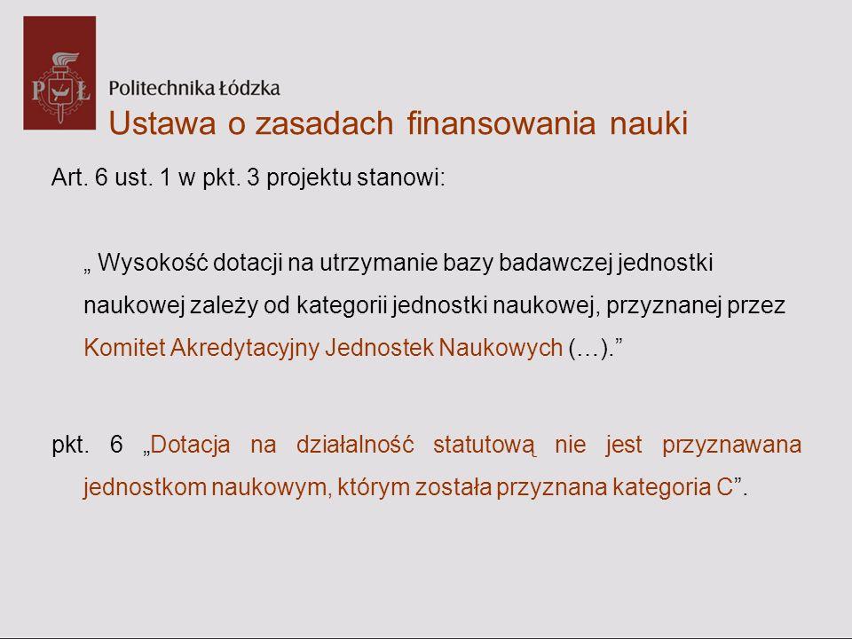 Projekt ustawy o Polskiej Akademii Nauk