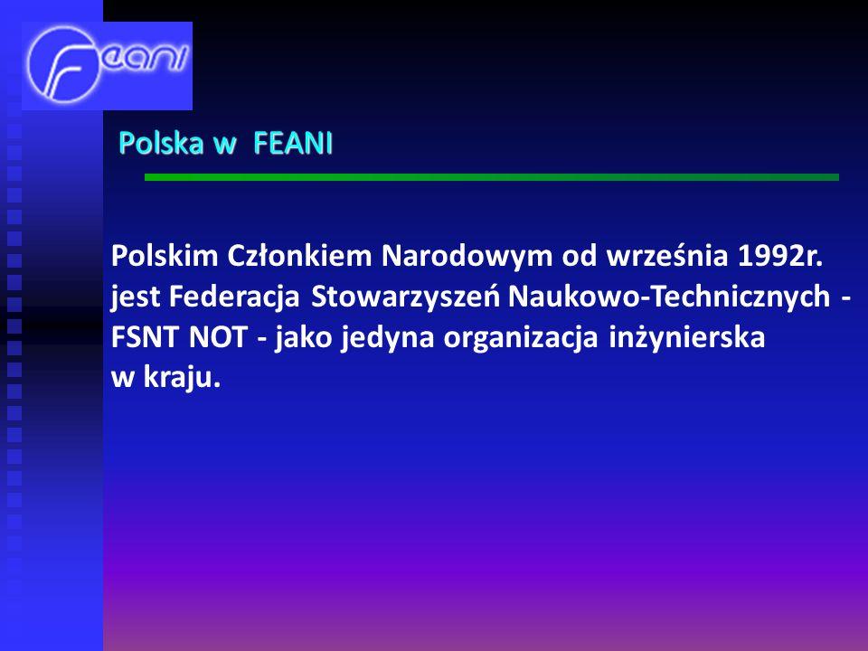 Polskim Członkiem Narodowym od września 1992r.