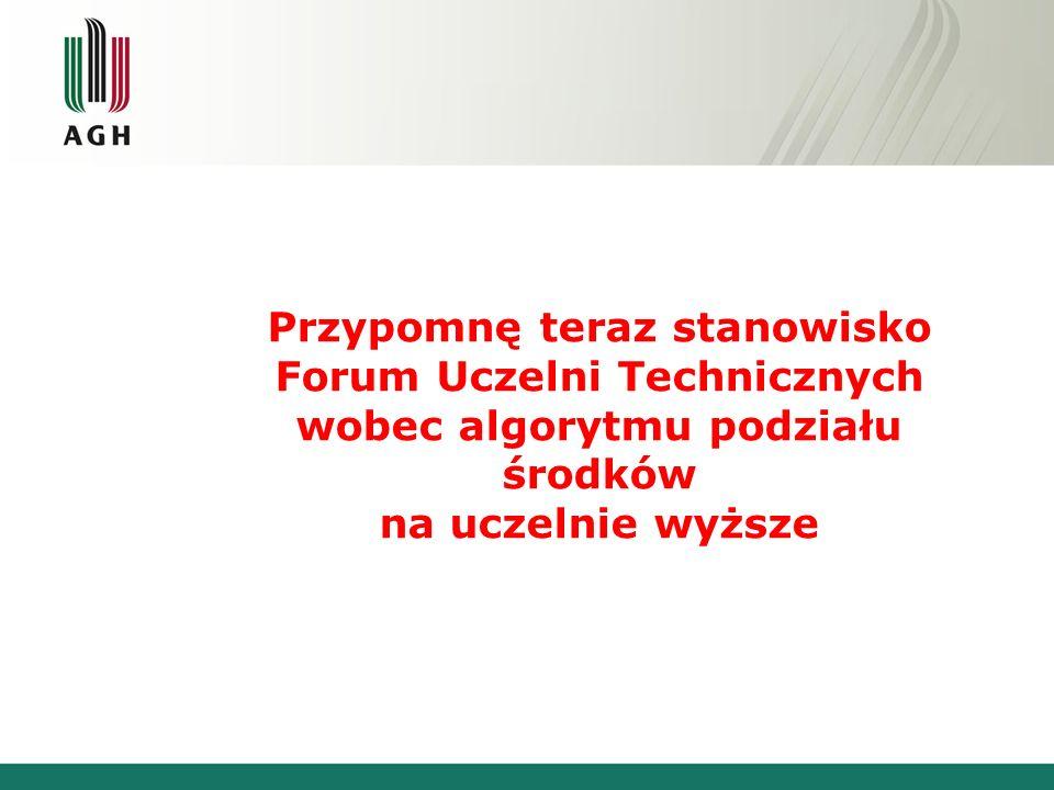 Konferencja Rektorów Polskich Uczelni Technicznych Idea algorytmu Kraków 25 – 26 stycznia 2007
