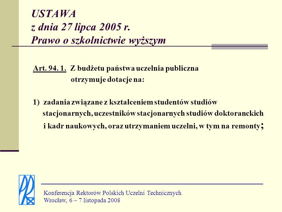 S i - składnik studencko-doktorancki, K i - składnik kadrowy, J i - składnik zrównoważonego rozwoju, B i - składnik badawczy, U i - składnik uprawnień, W i - składnik wymiany.