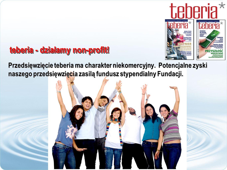 teberia – w tym roku 3 numery Do końca bieżącego 2009 roku ukażą się 3 numery czasopisma.