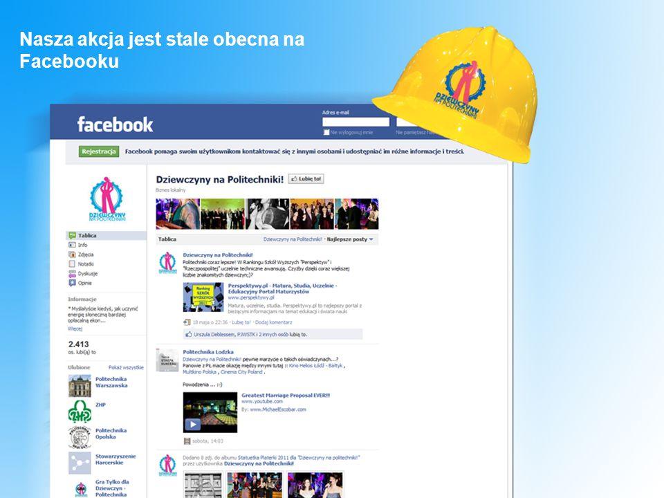 Nasza akcja jest stale obecna na Facebooku