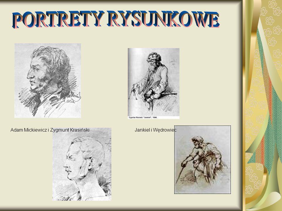Adam Mickiewicz i Zygmunt KrasińskiJankiel i Wędrowiec