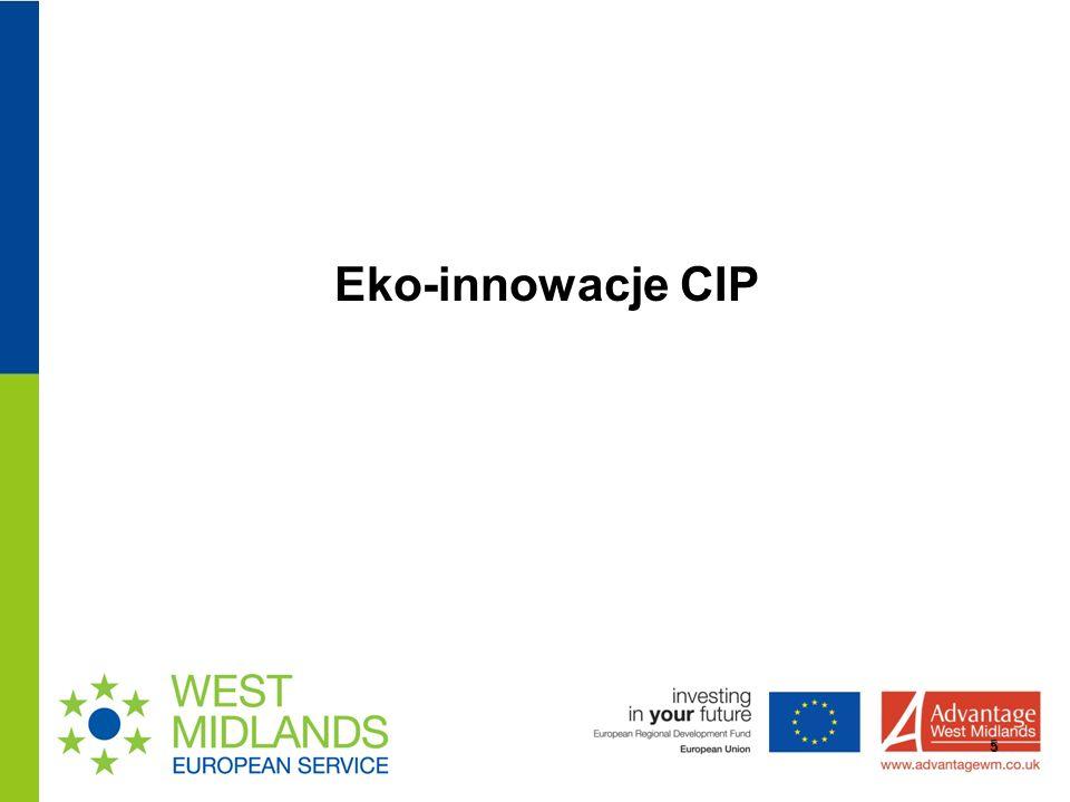 Eko-innowacje CIP 5