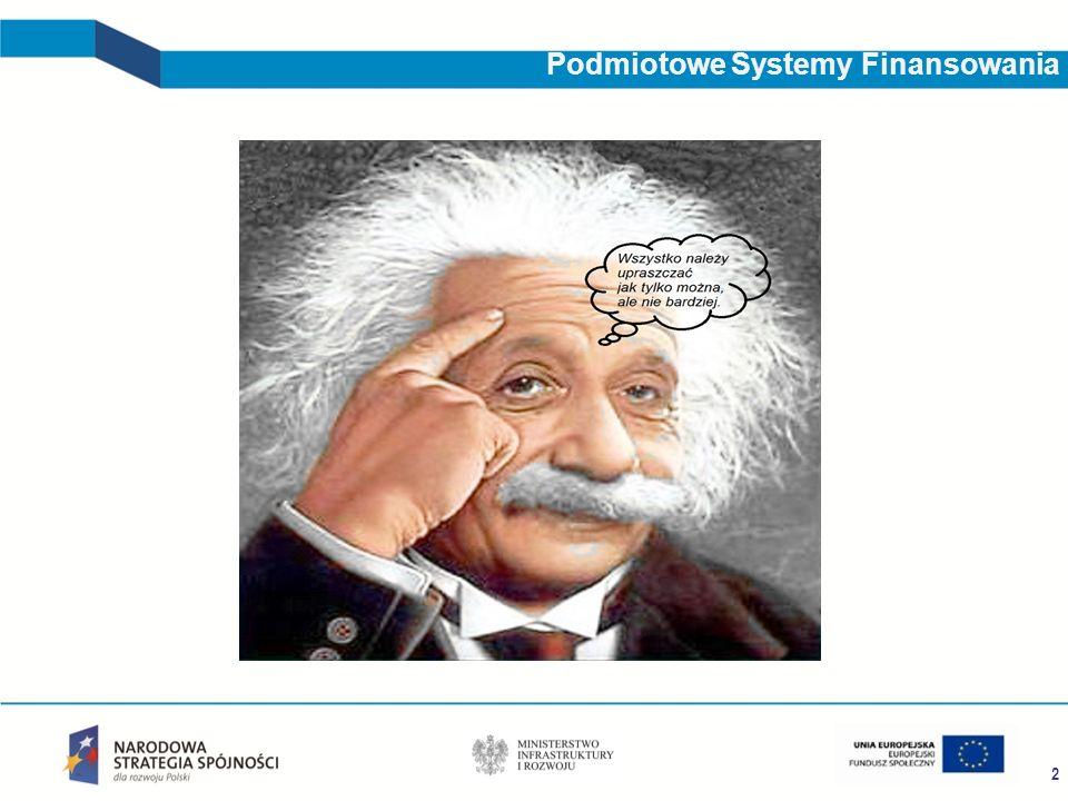 2 Podmiotowe Systemy Finansowania