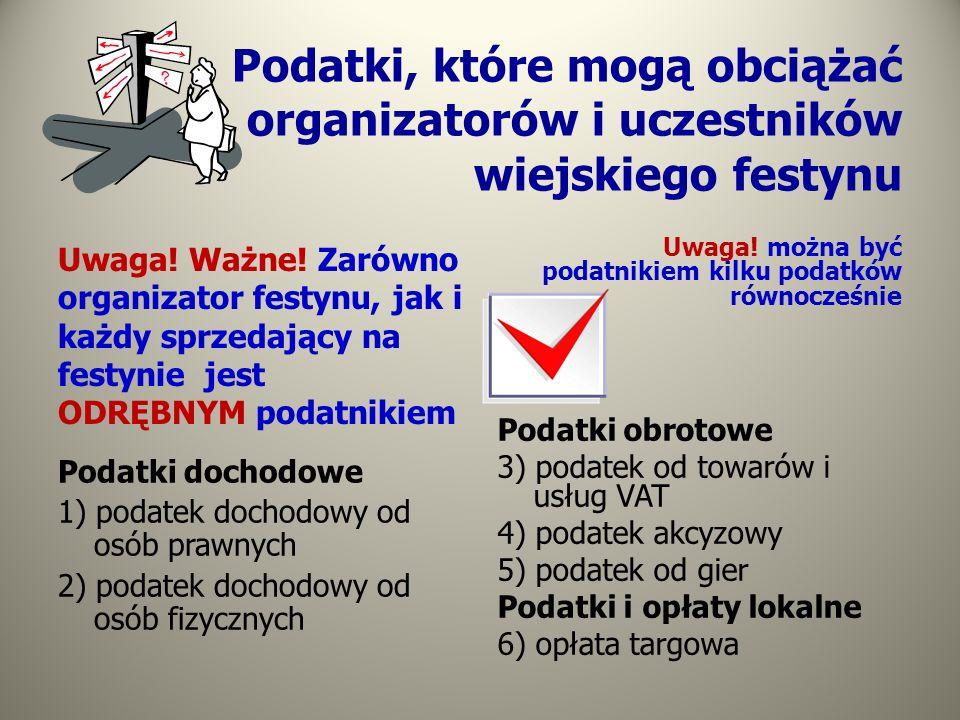 Jednostki organizacyjne nie mające osobowości prawnej - a podatek dochodowy Podstawowe zasady: każda aktywność jednostki (np.