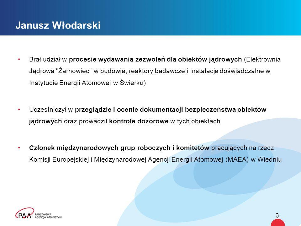 4 Funkcje PAA w Programie Polskiej Energetyki Jądrowej PromotorInwestor/ OperatorDozór Jądrowy Stworzenie warunków prawnych i organizacyjnych do rozwoju energetyki jądrowej, wykorzystanie energii jądrowej na potrzeby społeczno- gospodarcze kraju Zbudowanie, rozruch i eksploatacja obiektu jądrowego, odpowiedzialność za bezpieczeństwo jądrowe, zapewnienie środków finansowych Nadzór nad bezpieczeństwem obiektów i działalności, kontrola i ocena bezpieczeństwa, wymagania, zezwolenia, sankcje