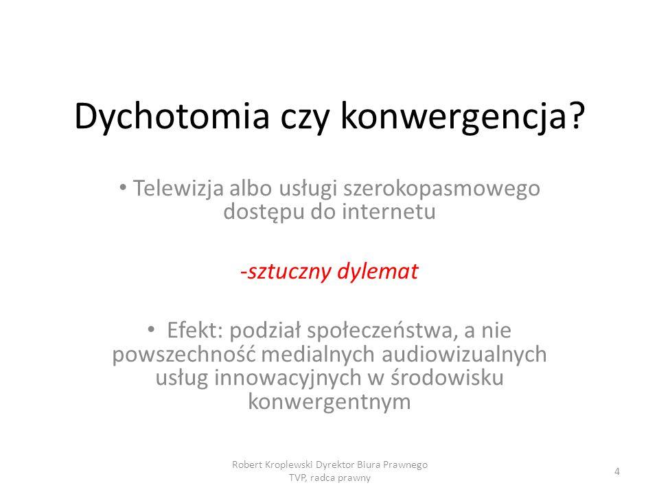 Dychotomia czy konwergencja.